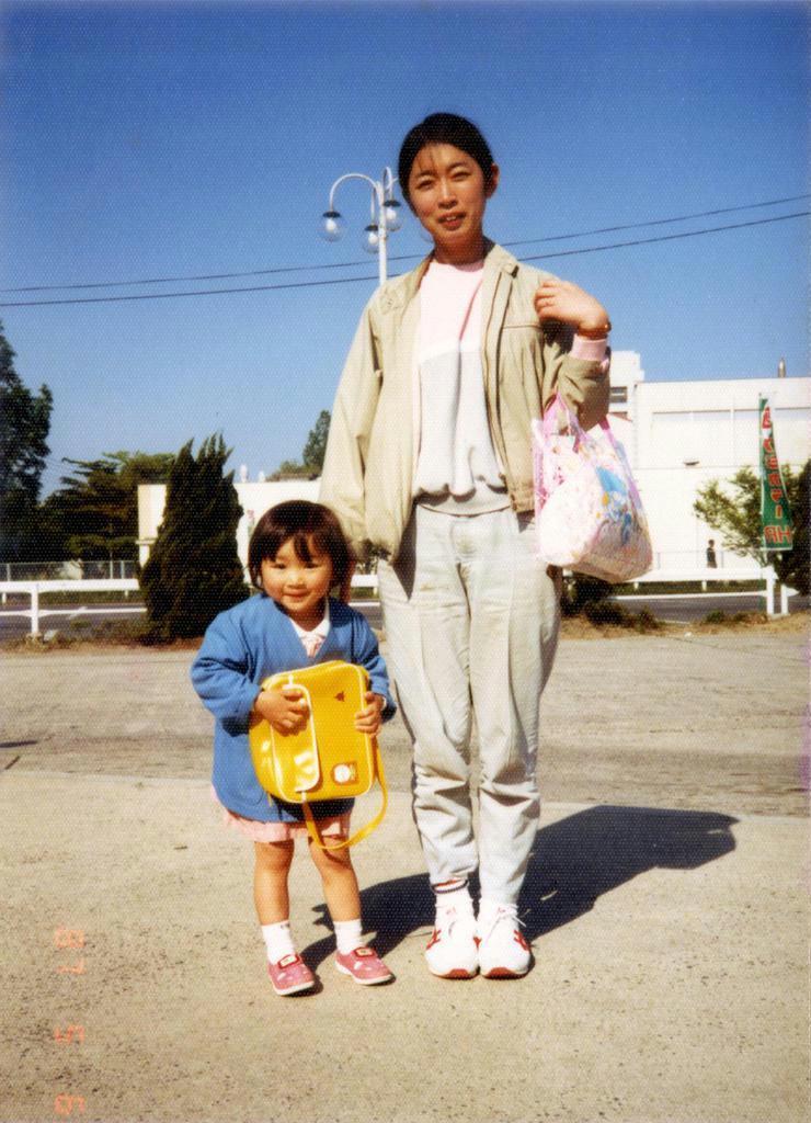 長女を連れて島根県への赴任も経験した