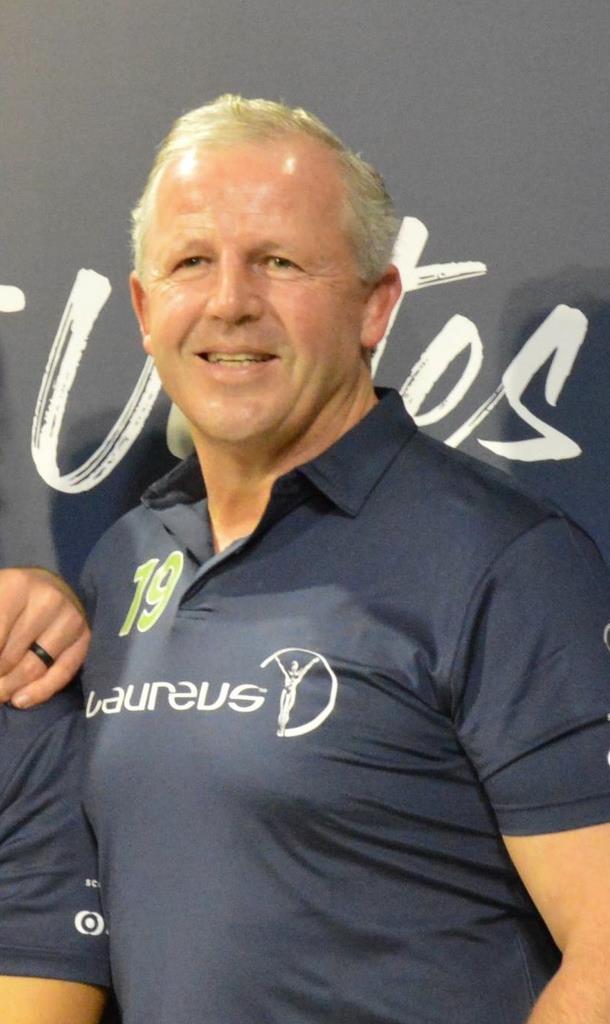 ラグビー南アフリカの原点ともなった1995年W杯を振り返ったNZ元主将のショーンさん=10月29日、都内