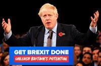英総選挙でジョンソン首相が初演説 離脱訴え、選挙戦本格スタート
