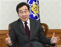韓国首相、日本の発表は「自己中心的」と批判 日韓首脳の面談
