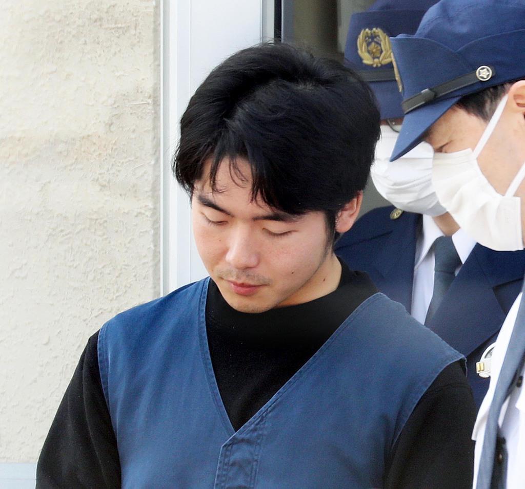小林遼被告=平成30年5月15日午後、新潟市西区(松本健吾撮影)