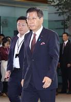 衛藤沖縄北方相、首里城焼失 「防災対策の不備の指摘ある」