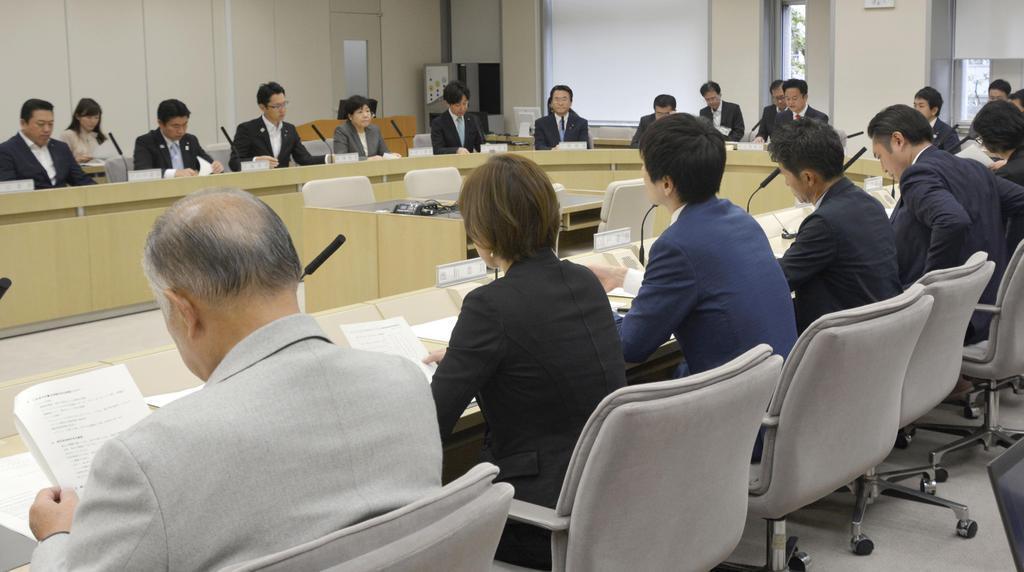 10月、東京五輪・パラリンピック開催に向けて開かれた東京都議会の特別委員会