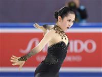 フィギュア女子 宮原SP2位、本田6位 15歳シェルバコワが首位