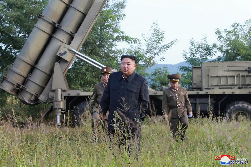 北朝鮮の金正恩朝鮮労働党委員長(朝鮮中央通信=ロイター)