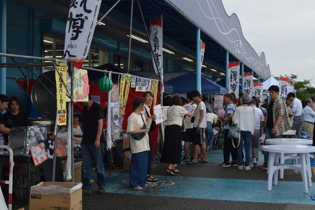 7月に開催された「うなぎ博覧会」