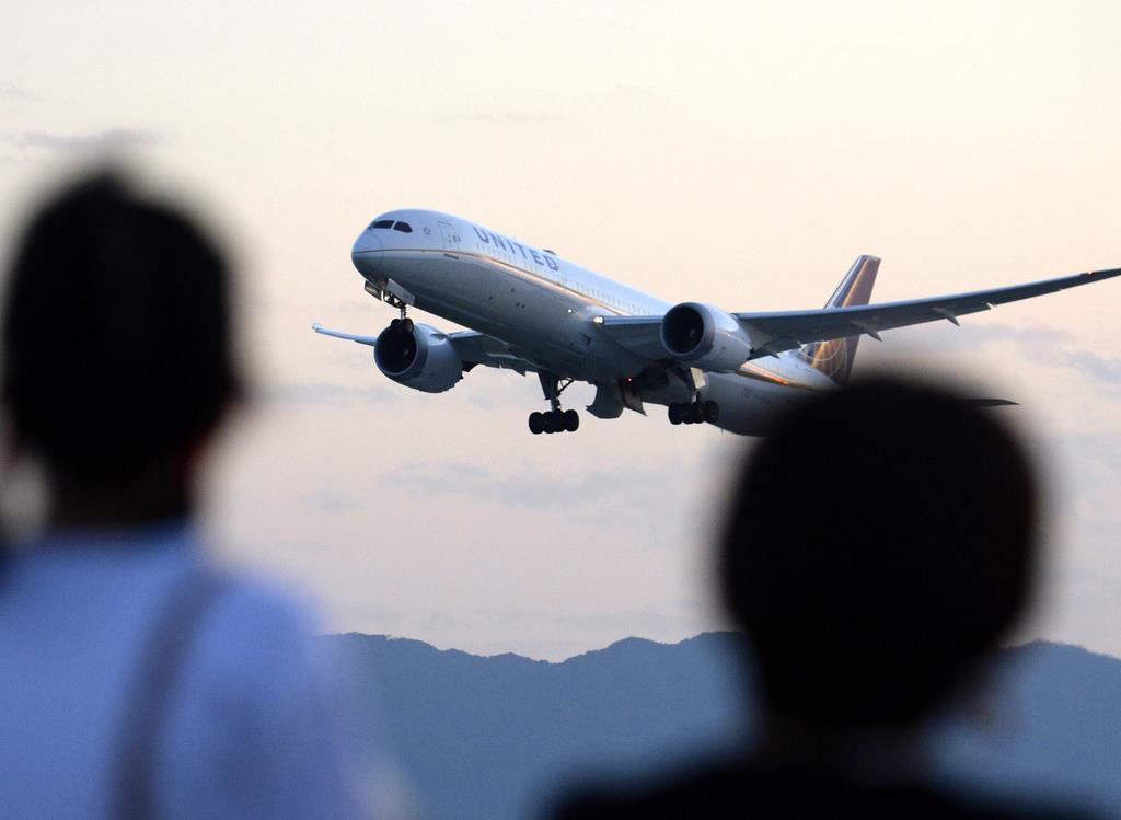 ドローンの目撃情報が寄せられた関西国際空港(須谷友郁撮影)