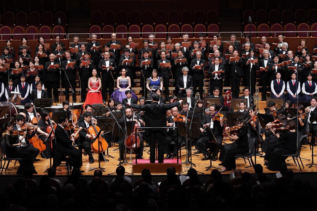 海道東征コンサート 壮大・華麗な交声曲に聴衆魅了 大阪