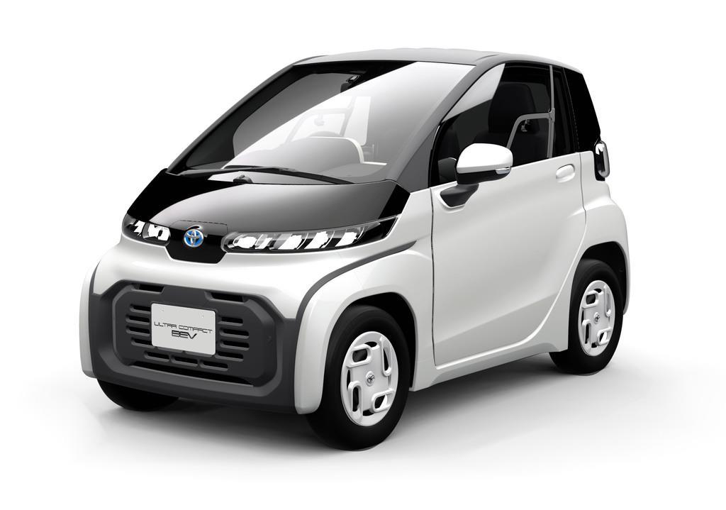 トヨタ自動車が2020年冬に発売する予定の超小型電気自動車(EV)(同社提供)