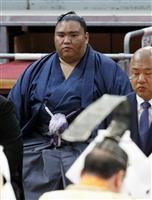 大関取りへ御嶽海「状態悪くない」 大相撲九州場所、10日に初日