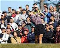 渋野「攻めのゴルフ、ビッグスコアを」 逆転Vに意欲