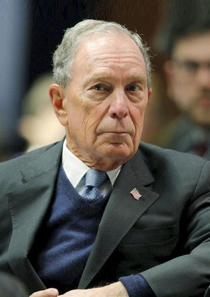 ブルームバーグ前ニューヨーク市長(ロイター)