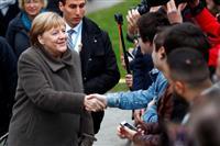独首相「どんな高い壁も打ち破れる」 ベルリンの壁崩壊30年式典