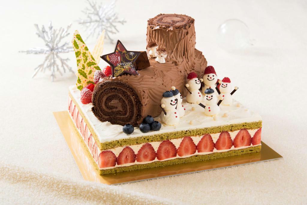 【暮らし】フード クリスマスケーキ この時期だけ、欧州伝統の…