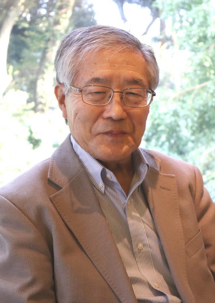 学習院大名誉教授の湯沢威さん