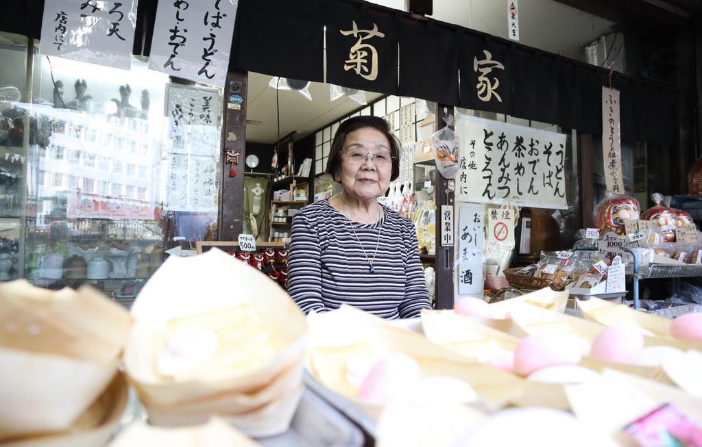 昭和、平成、令和…時代の変遷見守る 豊川稲荷東京別院の茶屋「…
