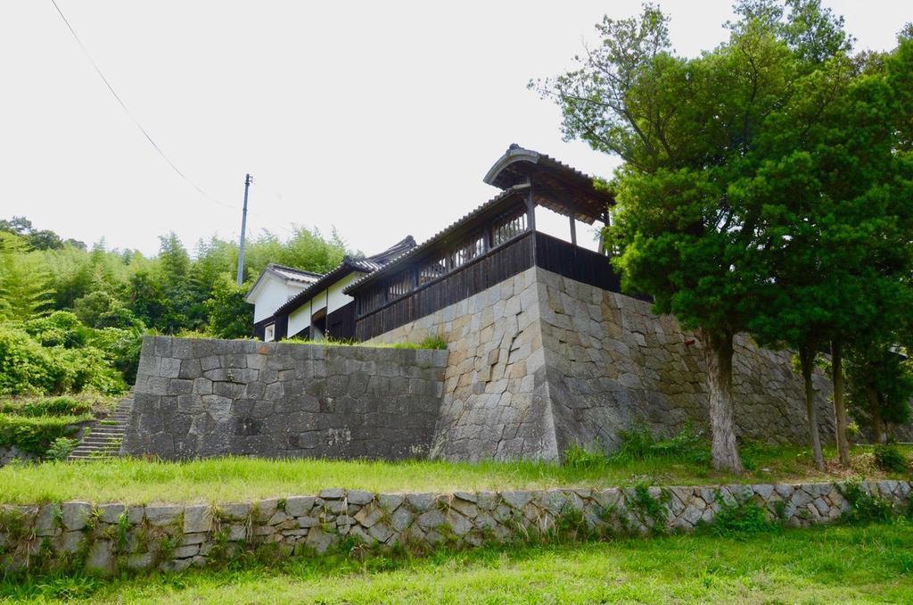 広島の歴史的建造物の尾上邸。島の活性化の拠点に期待されている