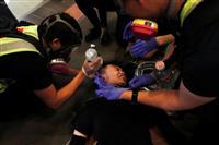 香港デモ、日本人も被害か 地元紙報道