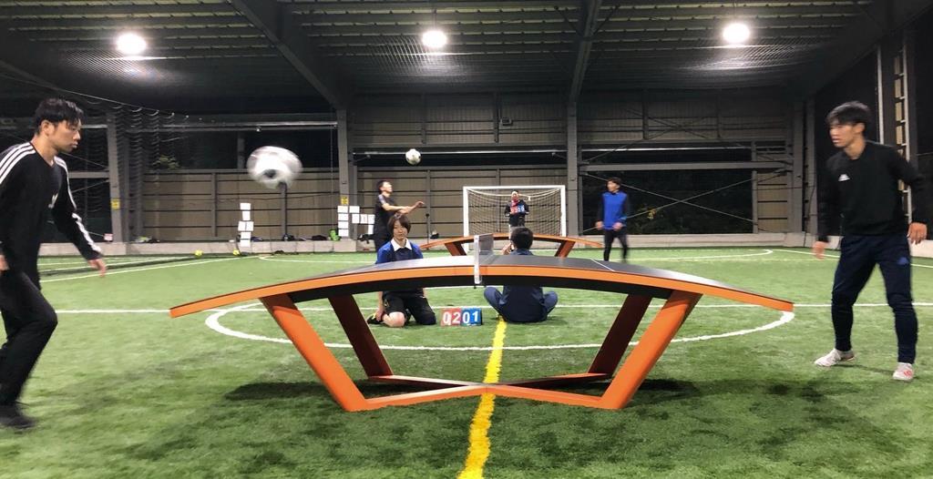 新スポーツ「テックボール」にハマる予感