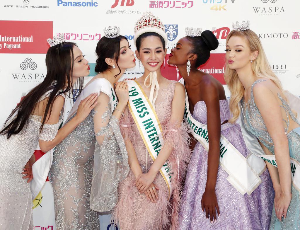タイ代表に栄冠 ミス・インターナショナル