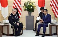 中国の海洋軍事進出に懸念と反対 首相と米軍制服組トップ表明