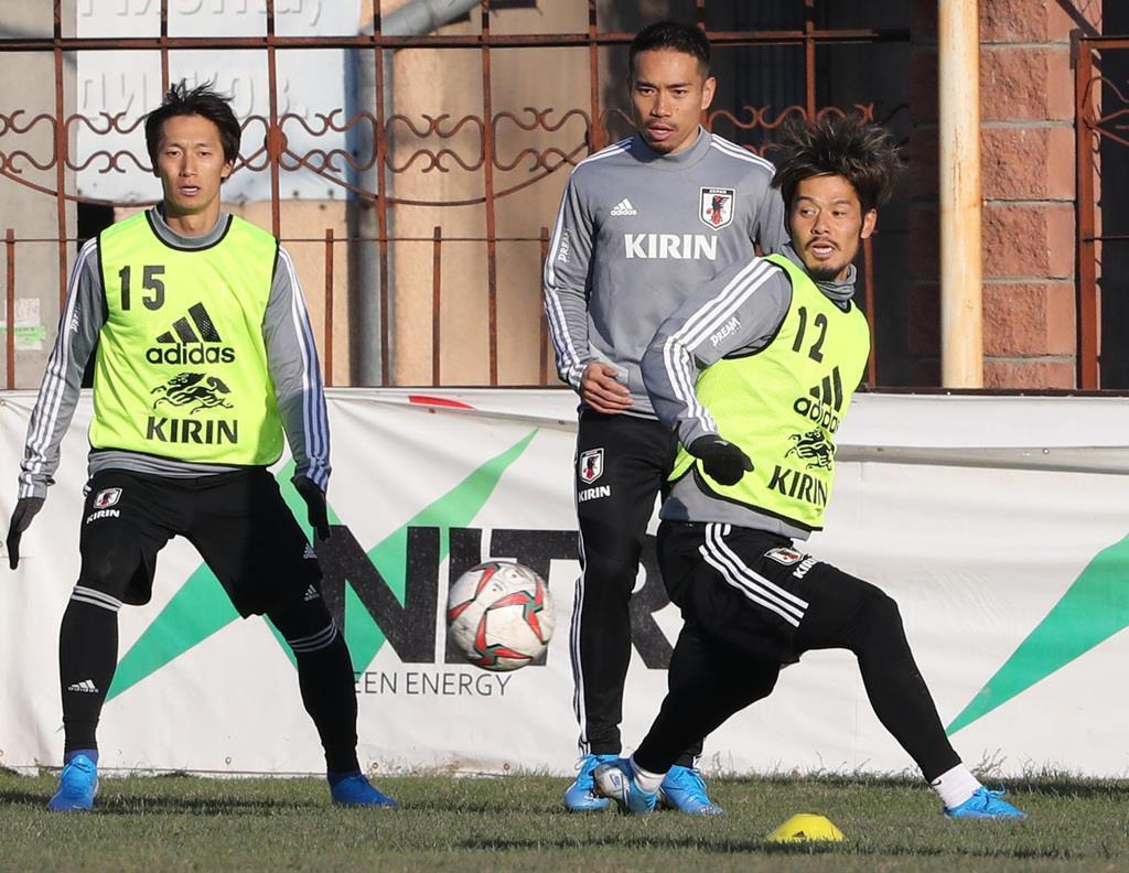 サッカー日本代表、キルギス戦に向け22人が参加 「10番」は…