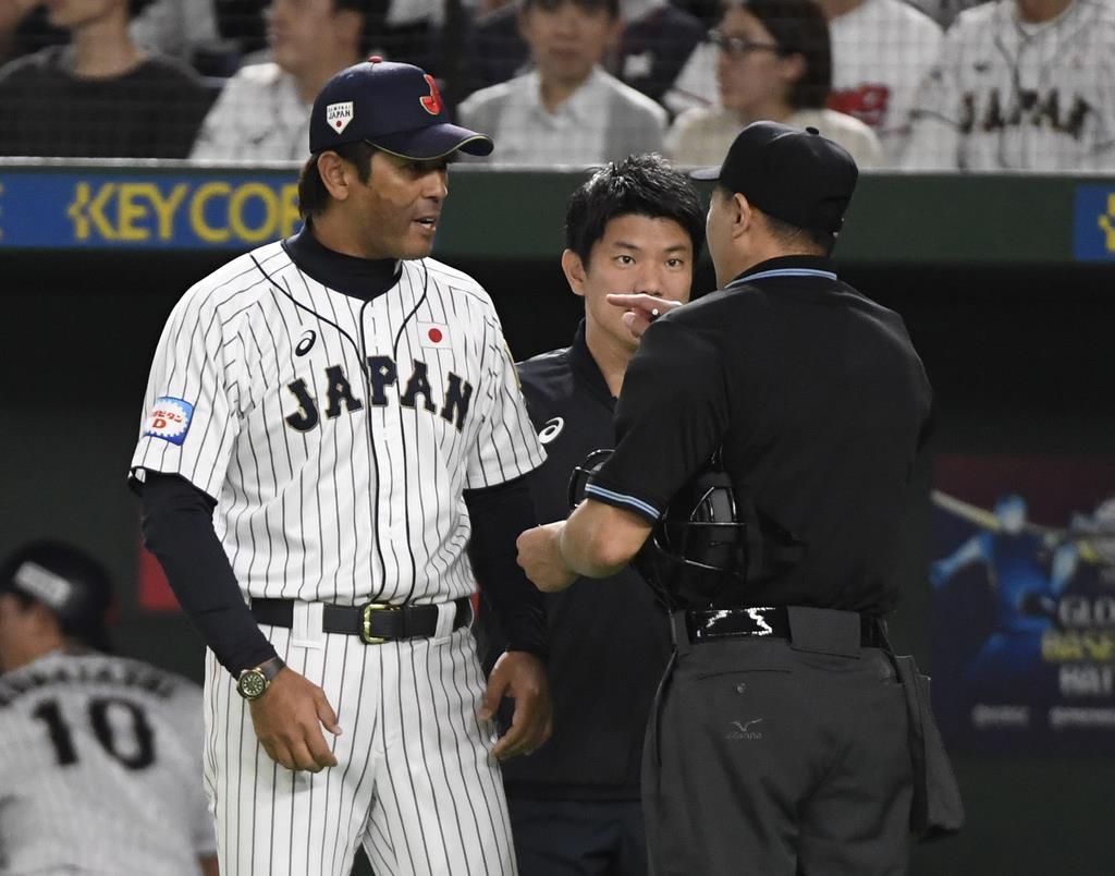 日本・稲葉監督「選手は全力でやった」 野球プレミア12