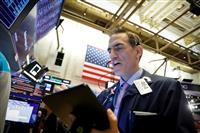 NY株、3日連続最高値 10ドル高、ボーイングが支え