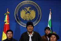 辞任表明のボリビア大統領 メキシコに亡命申請
