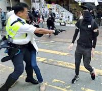 混乱続く香港 銃撃されて重体の男子学生は容体持ち直す