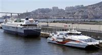 九州、韓国と結ぶ船利用者36%減 日本人も減少、令和元年度の上半期