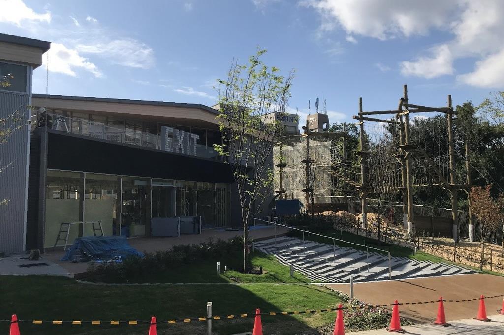 大阪・天王寺公園の新エリアが22日開業「お楽しみに」