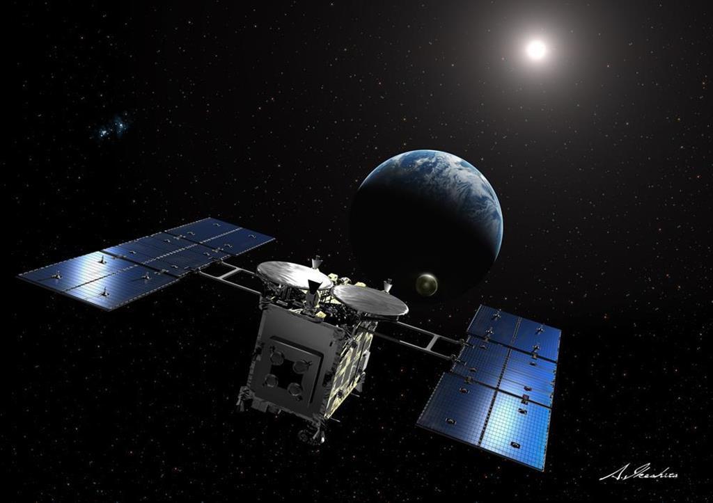 着地の試練乗り越えたはやぶさ2 高めた技術「火星」に生かす