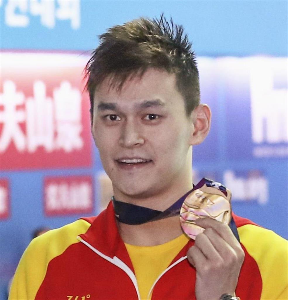 東京五輪に出場できるか 競泳の中国・孫楊の疑惑でWADAが提…
