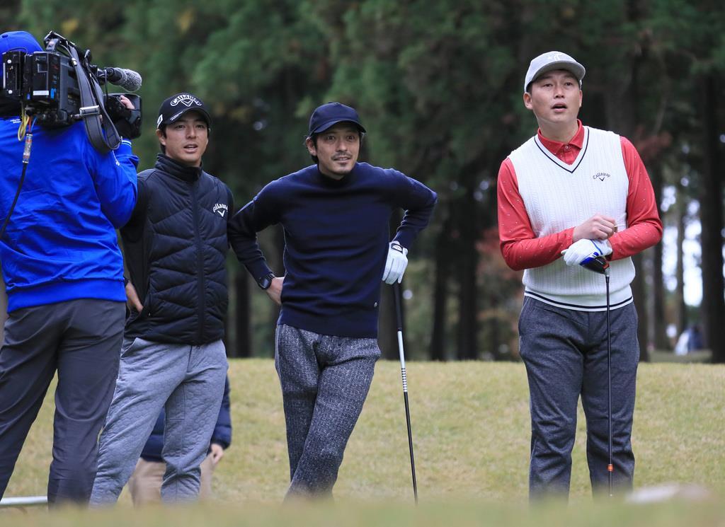 今平、石川が賞金王へ意欲 男子ゴルフの賞金1、3位