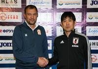 サッカー日本代表指揮官「強さ、規律がある」 対キルギス戦前、警戒緩めず