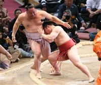 炎鵬、正攻法の相撲で3連勝 「前に出るのは一つの強み」