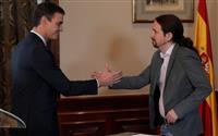 スペイン左派2党が連立合意