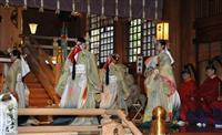 北海道神宮で大嘗祭当日祭 奉祝記帳2万人超