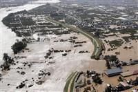 千曲川決壊は越水が主要因 堤防巡り国の調査委見解