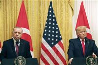 米トルコ首脳会談でトランプ氏が停戦を評価 S400問題は継続協議