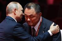 山下泰裕JOC会長に名誉勲章 ロシアのプーチン大統領