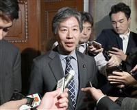 桜を見る会 立民・安住氏が首相説明を批判「不意打ちの言い訳会見だ」