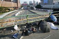 香港で70歳男性死亡 ロンドン訪問の高官襲撃も