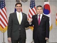 米、GSOMIA維持要求 文氏「日本との情報共有難しい」