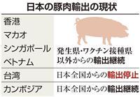 政府、シンガポールと国産豚輸出継続で合意 豚コレラ影響最小限に