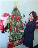 """【近ごろ都に流行るもの】「壁式クリスマスツリー」省スペースで手軽に""""映え""""る"""