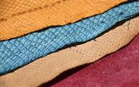 ブリの皮なめして革財布 魚の町氷見市で地域おこし
