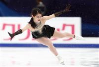 10位横井はほろ苦いデビュー フィギュアのロシア杯