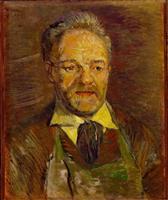【ゴッホ展この1点】(3)「タンギー爺さんの肖像」1887年1月 芸術家支えた優しき店…